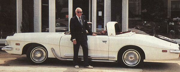 Stutz founder with Stutz