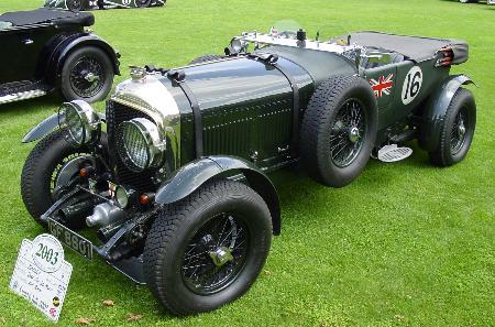 European Concours 2003 Cricklewood Bentley