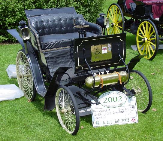 Првиот автомобил во Македонија е од 1898 година во Виница! Benzvelo98