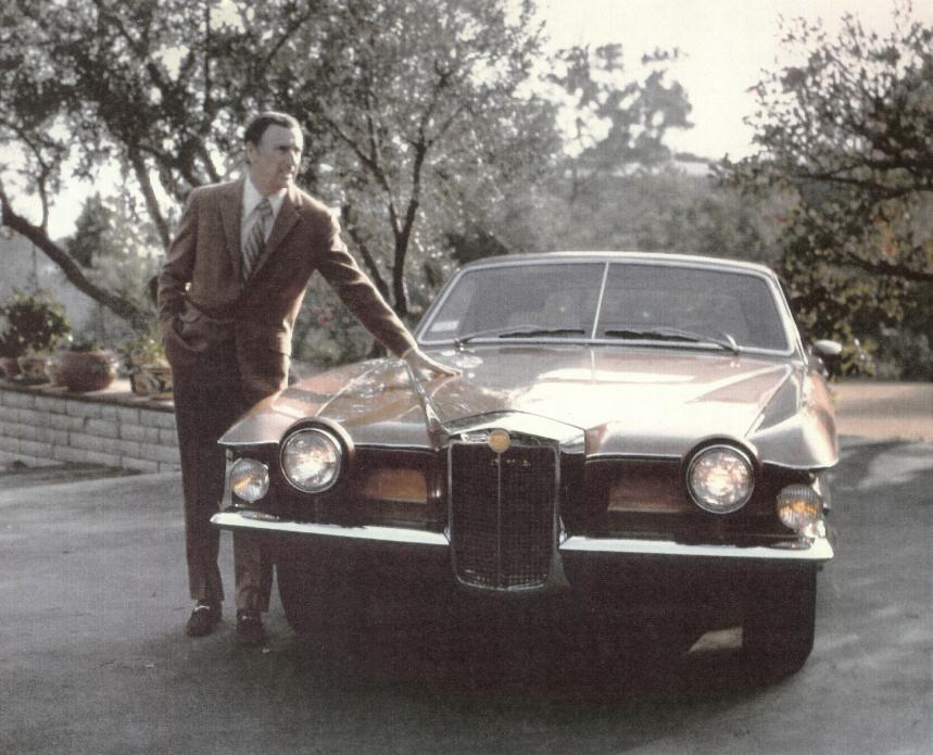 Dick Martin and his Stutz