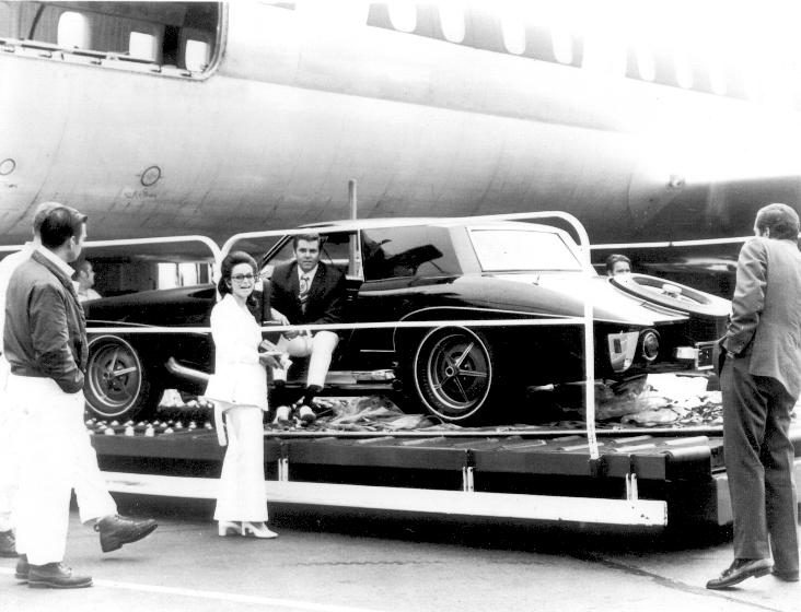 Jules Meyers and Elvis' Stutz