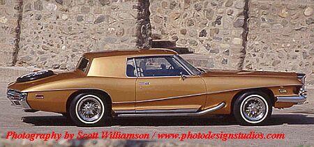 1972 Stutz Blackhawk, featured in Hot Cars folder