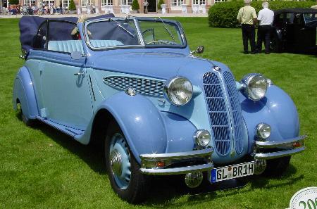 Planet d\'Cars: 1936 BMW 326 Cabriolet
