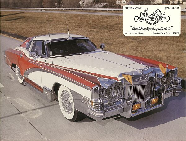 Dunham coach motor car company for Cadillac motor car company