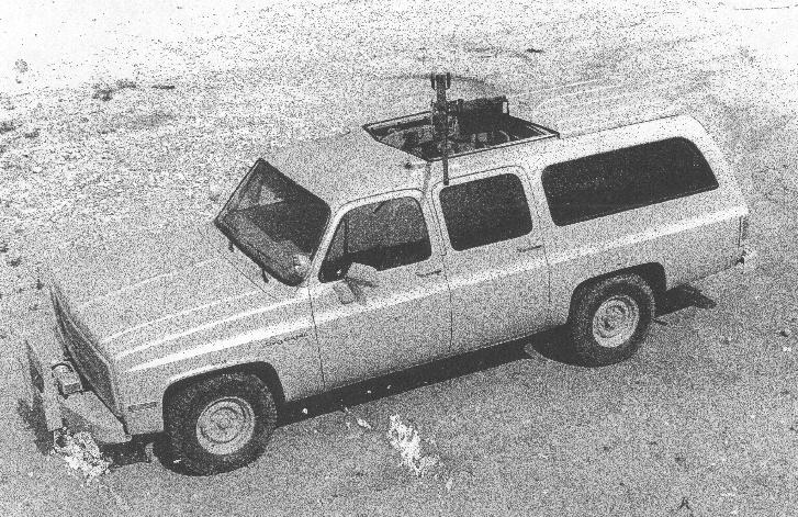 Gazelle with machine-gun