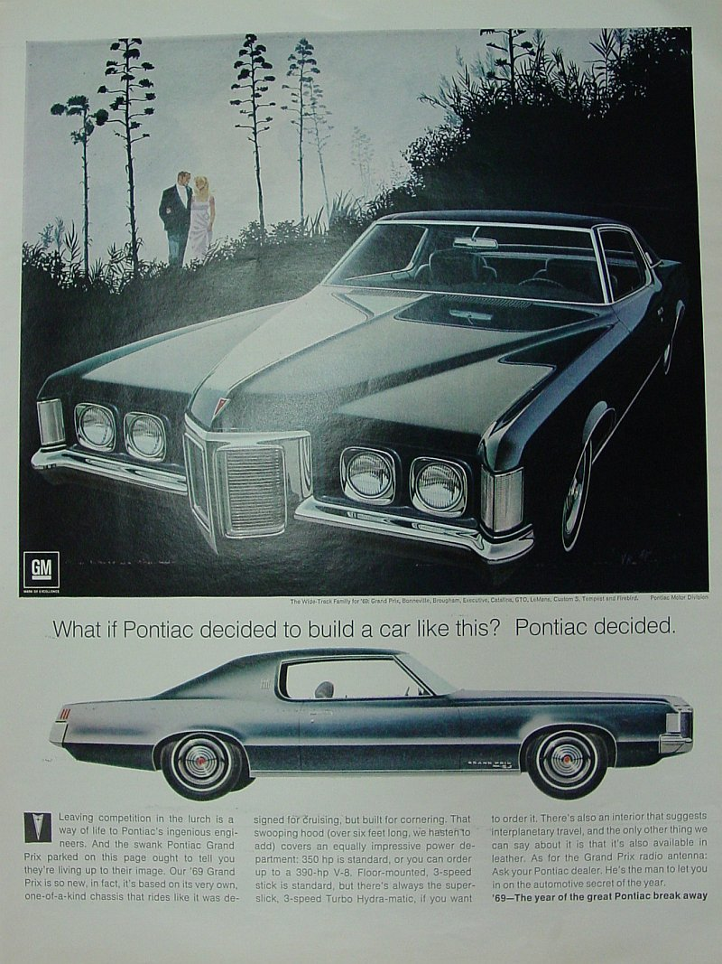 Pontiac Grand Prix ads