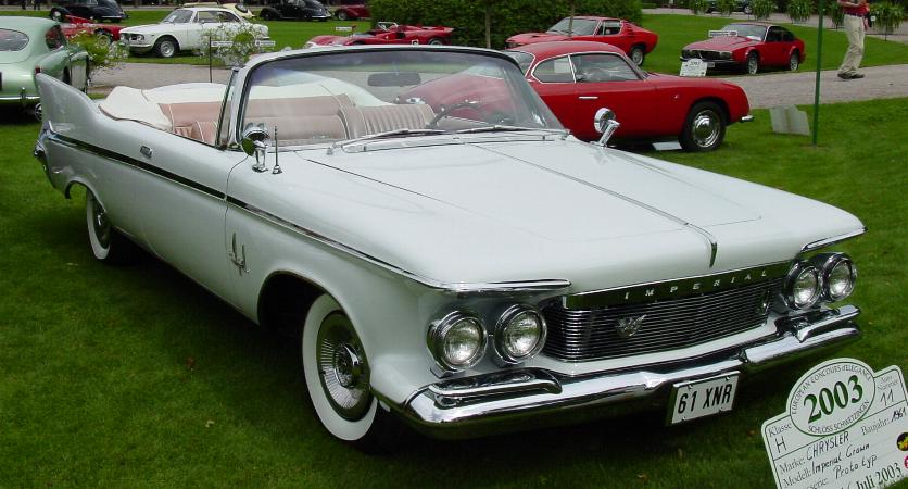 "Chrysler Imperial Crown Convertible ""Shriner Edition"", 1961"