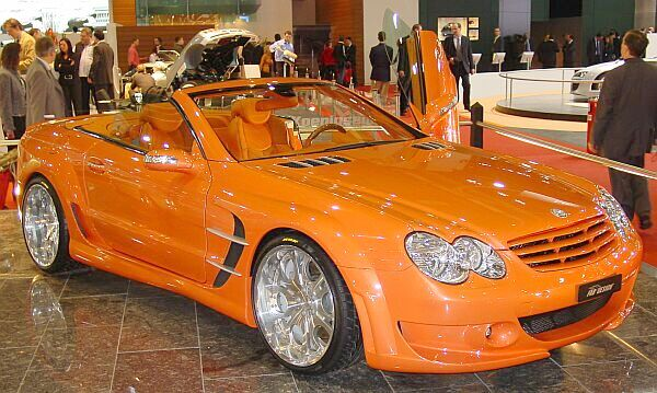 Mercedes SL FAB-design