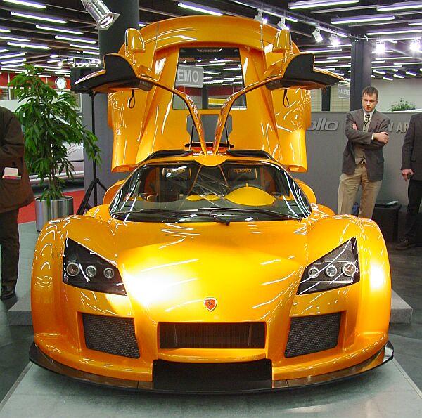 Knack Car: Gumpert Apollo Cars Pictures