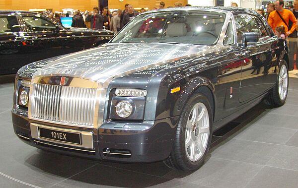 Rolls-Royce 100EX, prototype Geneva 2004