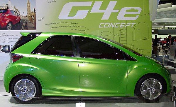2008 Subaru G4e Concept Car Pictures