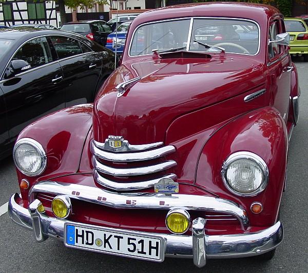 2 Oldtimergala 2006 Besucherparkplatz
