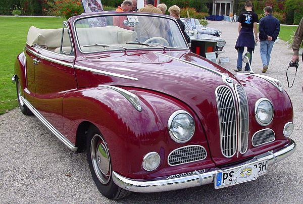 1954 bmw 502 cabriolet - photo #15