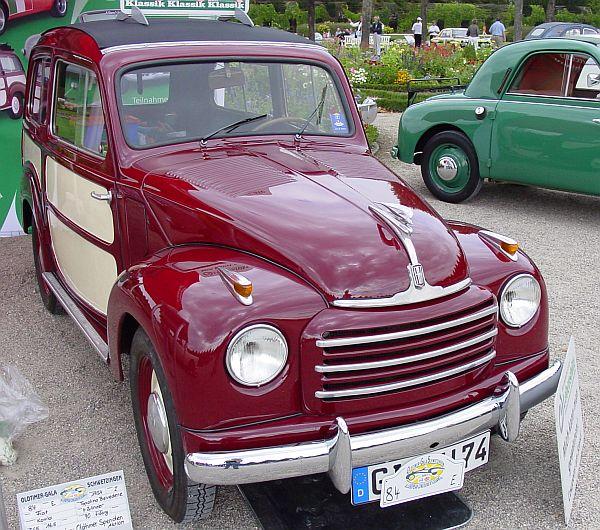 Topolino A Pesca 1953 Cadillac
