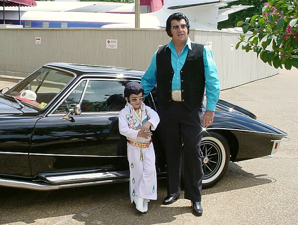 little Elvis and Ron Swartley