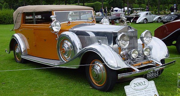 Rolls-Royce Phantom II Star of India, 1934