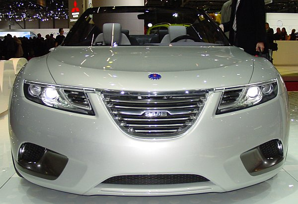 Saab 9-X Convertible Concept Front