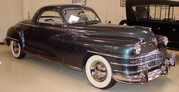 1948 chrysler new yorker business coupe