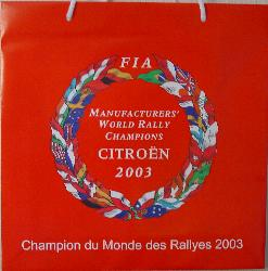 World Champion 2003