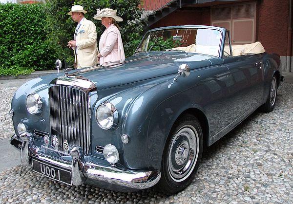 V C Bensconti on Talbot Lago Cars
