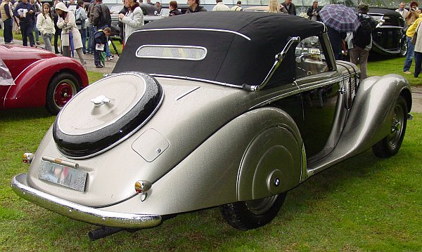 1939 BMW 328 Roadster Wendler Wendler, a famous German coachbuilder bodied a