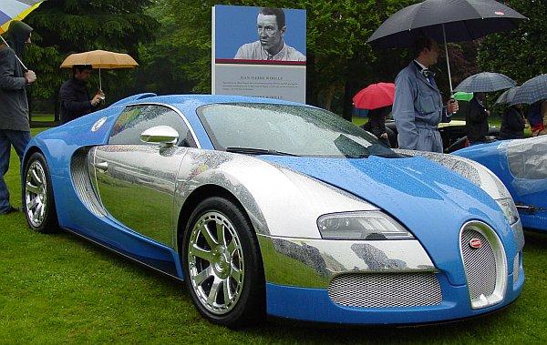 Bugatti Sonderschau Villa D Este 2009