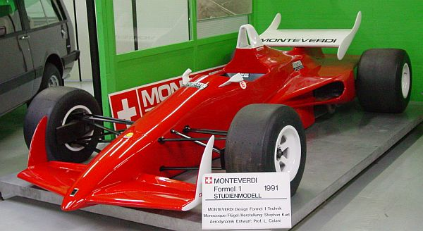Monteverdi Museum, part 3: Off-Road-Cars & Formula Racers